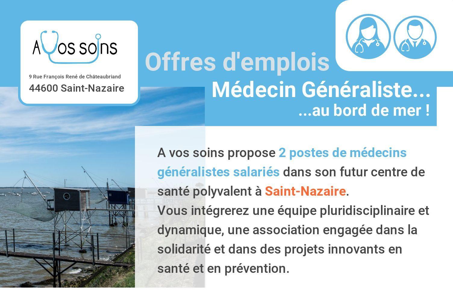 Annonce médecin Saint-Nazaire